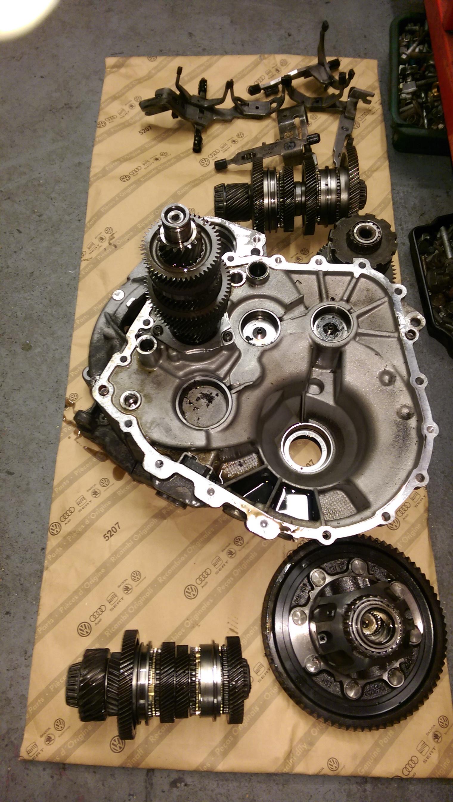 VAG DSG gearbox repairs : ICS DIAGNOSTICS